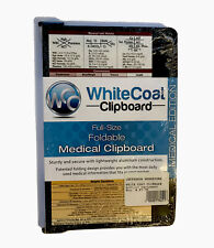Whitecoat MedInfo Clipboard Medical Edition Black