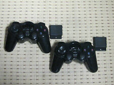 2 Funk Controller für Playstation 2 PS2 Wireless Gamepad NEU