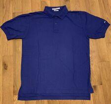 Levi's Mens Shirt Purple Polo Short Sleeve Vintage Big E Size Large
