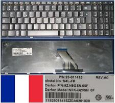 Azerty Keyboard FR LENOVO 3000, G560, Version 2 N4L-FR NSK-B20 25-011415 Black