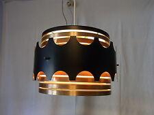 Mid Century 60er 70er Lamellenlampe Decken Lampe Danish Design #<