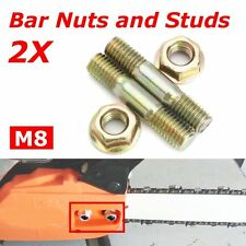 4Pcs Bar Nuts & Bar Studs/Bolts for Baumr-Ag SX62 62cc Chainsaw Chain Saw