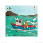 Sam Toft Searching For The Legendary Sea Pasty Art Print 16 x 16 Inches Official