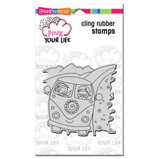 STAMPENDOUS RUBBER STAMPS CLING VW VAN NEW cling STAMP