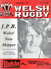 All Blacks 'Tour-JPR maintenant Skipper-resolven célébrer-Welsh RUGBY (novembre 1978)
