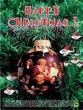 HAPPY CHRISTMAS! Movie POSTER 27x40 Katarina Ewerl f Peter Haber Jessica Zand n