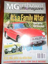 MG Enthusiast Sep 2000 MGB, R Type
