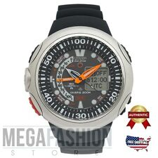 Citizen Men's Eco-Drive JV0000-01E Black Polyurethane Watch