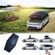 4.5M Auto Car Umbrella Roof Cover Tent-UV Protection Automatic Canopy Portable