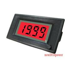 ON/OFF 12V DC Red LCD Digital Auto Battery Solar Panel Voltmeter Power 6-24V