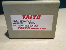 Taiyo 100S-16Sd32N25 Hydraulic Cylinder 10Mpa *New No Box*