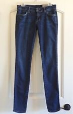 Siwy USA Womens Rose Super Drainpipe n Nymph Stretch Blue Jeans SZ 27 X 32 1/2
