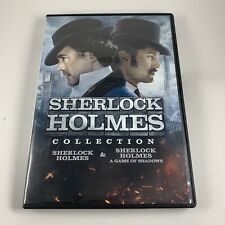 Sherlock Holmes & A Game of Shadows DVD 2-Disc Set Guy Ritchie Robert Downey Jr.