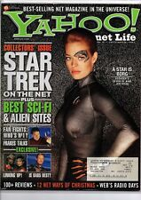 Yahoo! Collector Issue - Star Trek On The Net Jeri Ryan Borg Vol 3 #12 Dec 1997