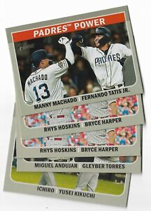 2019 Topps Heritage High Number Combo Cards U Pick From List CC1-CC10 Tatis +