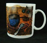 Starbucks Coffee Break Essentials Mug 1998 Large 20 oz Cup Vintage EUC