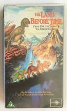 The Land Before Time 1988 VHS PAL Lucas Spielberg  CIC Universal  Collectable NM