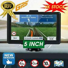 """5"""" Sat Nav Car Lorry HGV Van GPS Navigation EU UK Maps Speedcam Updates Satnav"""