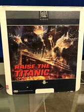 Raise The Titanic CED VideoDisc Vintage RARE w/Free Domestic Shipping