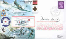RAFA 1 cover The Skirmishing signed Battle of Britain DAVID WWII WW2 Ace