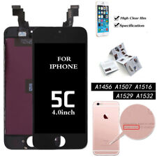 Black Touch Screen Digitizer LCD Display Assembly for iPhone 5c Royal Mail 1st