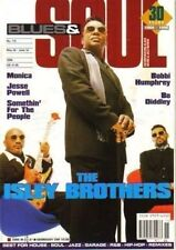The Isley Brothers on Blues & Soul Magazine Cover 1996    Monica   Jesse Powell