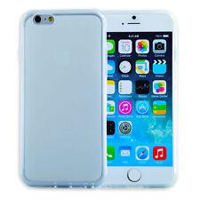 Unifarbene Handy-Schalen aus Silikon für Apple