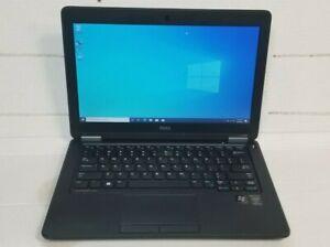 """Dell Latitude E7250 12.5"""" Ultrabook  i5-5300U 2.3GHz 8GB RAM 256GB SSD Win10"""