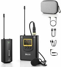 Balila Wireless Lavalier Microphone for iPhone Android Smartphone Camera RRP £50