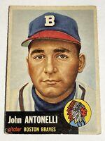 1953 Topps #106 John Antonelli - Boston Braves