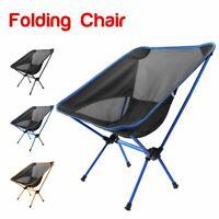 Mini Portable Folding Outdoor Camping Fishing Picnic Bbq Beach Chair Seat