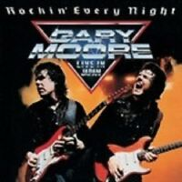GARY MOORE 'ROCKIN' EVERY NIGHT (LIVE)' CD NEW! !