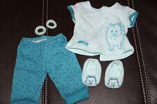 """Pomeranian Pajamas Outfit American Girl 18"""""""