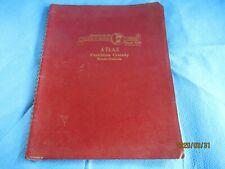Pembina County North Dakota Atlas 1958 in nice condition all complete