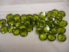 full package,36 swarovski channel stones,47ss olivine #1110
