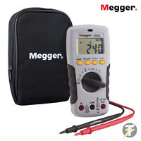 Megger AVO210 Autoranging True RMS Digital Multimeter with Probe Leads and Case