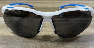 REVO Highside II  RE 6018-09 White/Royal Blue Polarized Lenses 72-07130