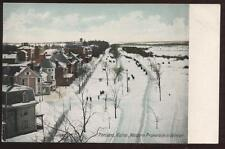 Postcard PORTLAND ME Promenade Aerial View 1907?
