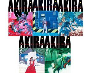 AKIRA Omnibus Vol. 1-5 English Manga by Katsuhiro Otomo Kodansha Comics Book Set