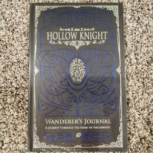 Hollow Knight Wanderer's Journal by Kari Fry (2019, Hardcover) w/Goofy Cover