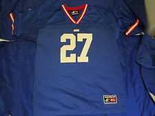 3112376680d VINTAGE NY GIANTS NFL FOOTBALL JERSEY YOUTH XL 18-20 RON DAYNE WISCONSIN  GREAT