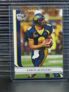 2005 Press Pass SE Aaron Rodgers Rookie RC Checklist #40 CAL Z71