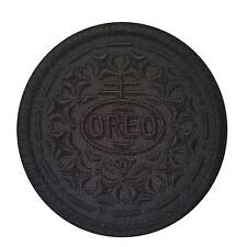 oreo cookie all black embroidered army tactical SWAT morale sew iron on patch