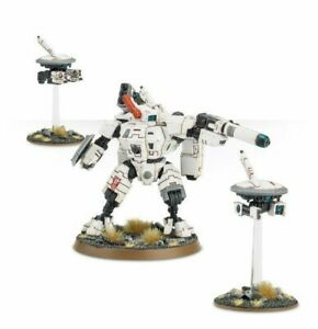 Tau Empire XV8 Crisis Battlesuit with 2 Drones - + Many Weapons - Warhammer 40k.