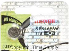 Maxell 373 SR916SW SR916 V373 617 916 Watch Battery 0% MERCURY ( 1 PC )
