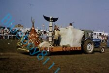 More details for young farmers club float wild west lincolnshire show 1973 original 35 mm slide