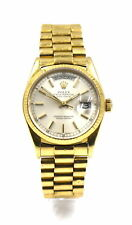 GENTS ROLEX 18038 OYSTER PERPETUAL DAY-DATE PRESIDENT WRISTWATCH 18K GOLD c1986
