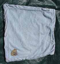 Classic Pooh Light Blue Lovey Baby Security Blanket The Sweetest of Dreams