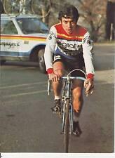 CYCLISME carte cycliste HUBERT ARBES équipe GITANE CAMPAGNOLO 1977