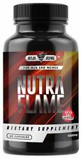60 Keto Nutra Flame Fat Burner Weight Lost Diet Pills MCT Oil Ketogenic Fire